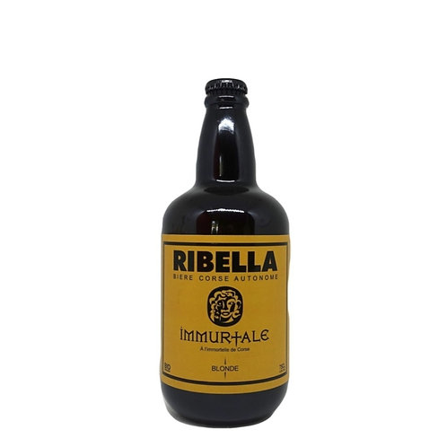 Ribella Immurtale Blonde 75 cl Bio