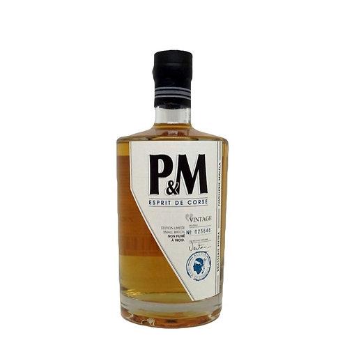 P&M Whisky Esprit de Corse Vintage 70 cl