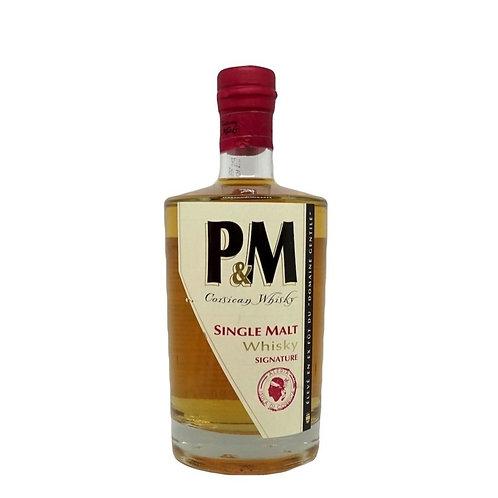 Whisky Signature P&M Single Malt 70 cl