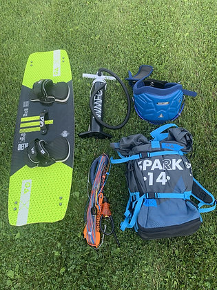Complete Kiteboarding Package (New)