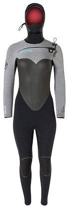 Women's Hyperflex CRYO Hooded Wetsuit 6/5mm