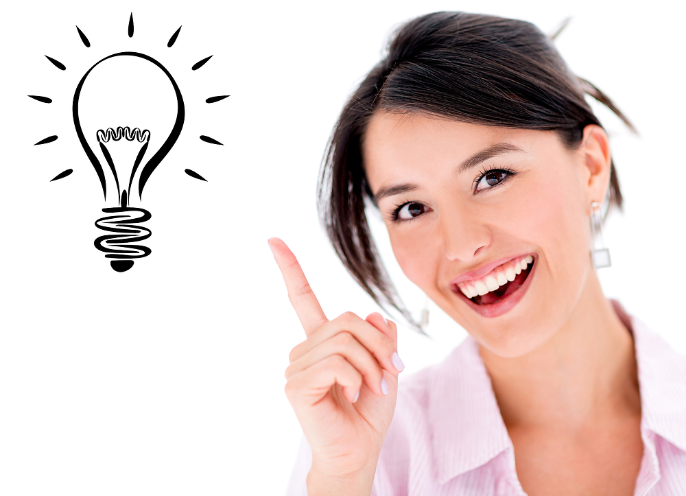 bigstock-Happy-woman-pointing-a-great-i-45704728-ightbulb