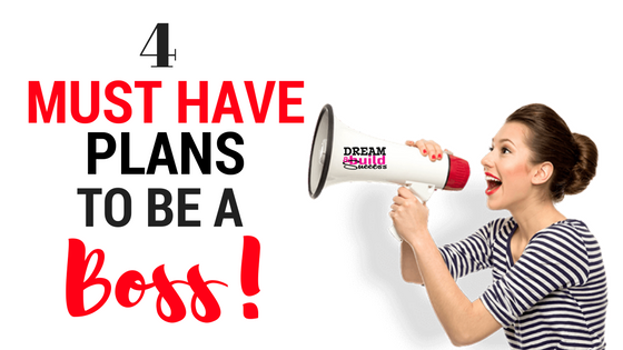 4 PLANS YOU NEED NOW!