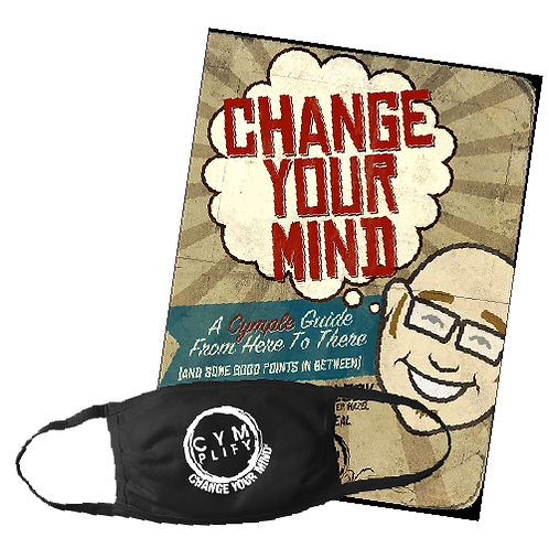 Change Your Mind Book & Face Mask