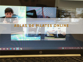 Aulas de Pilates Online (40min)