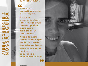 Consultas de Psicologia com a Dr.ª Rita Leal