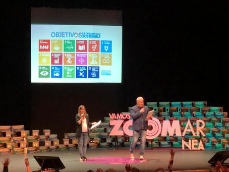"""La ONU consideró """"valiosa"""" la contribución a los ODS el encuentro NEA de VAMOSAZOOMAR"""