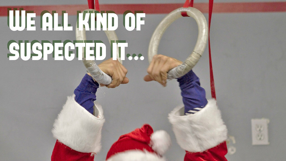 Santa does CrossFit