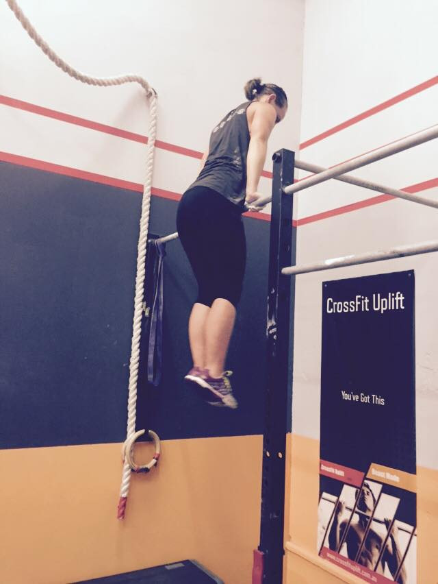 Kahla pumping Muscle ups