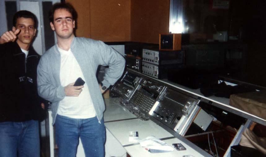 Direto dos estudios da Rádio La Salle