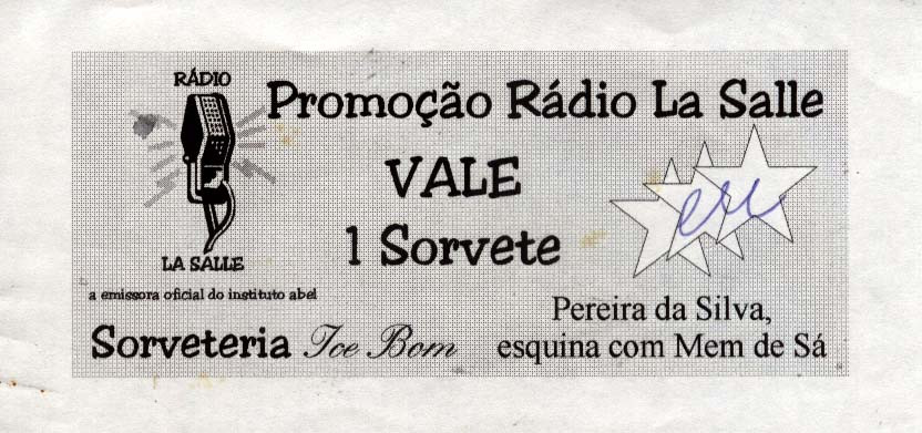 Promoção Rádio La Salle