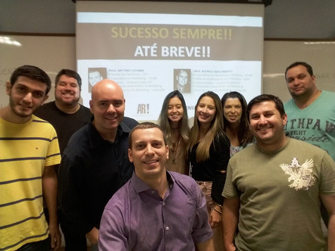 Foto oficial da turma de Marketing Avançado