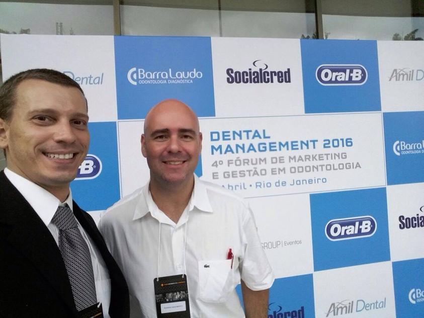 Dental Management 2016: Antonio Latempa  e Rodrigo Nascimento