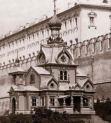 Храм на выставке в Александровском саду г.Москва