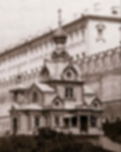 Рис. 11 Деревянная церковь – экспонат Политехнической выставки в Москве Фото 1872 года