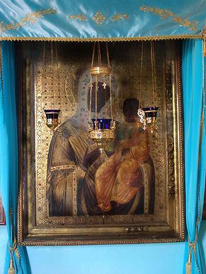 Иверская икона Божией Матреи находиться в Егорьевском городском округе деревня Рыжево Введенский храм