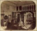 Модель церкви в архитектурном отделе музея. Фотография конца XIX века. Архив Политехнического музея
