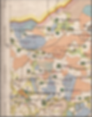 Рис.1. Деревня Рыжево на карте Рязанской губернии 1850 года