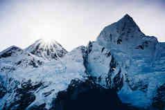 Mount Everest, Nepal / September 2019