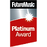Future Music Platinum Award for Sontronics Aria microphone