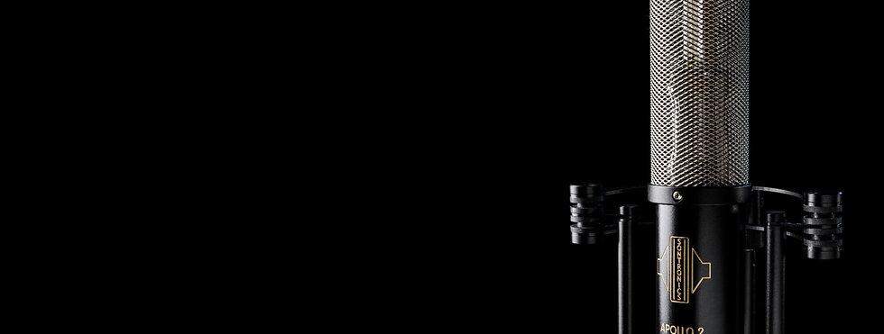 Sontronics Apollo 2 microphone close-up shot