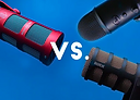 Video shootout between Sontronics Podcast Pro microphone (WINNER) versus Rode PodMic versus Blue Yeti
