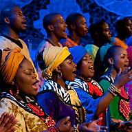 Group of singers choir