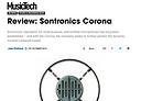 Music Tech review of Sontronics Corona