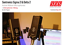 Sound On Sound Review of Sontronics Sigma 2