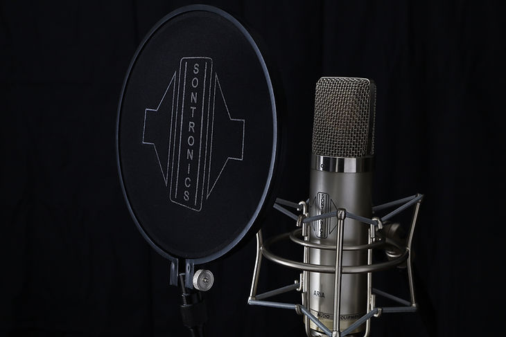 Sontronics ST-POP popshield with Sontronics Aria microphone