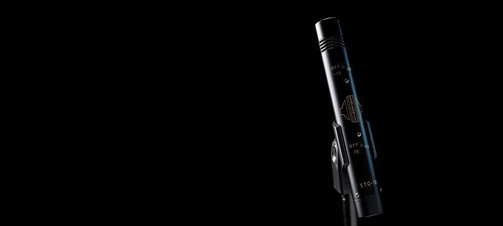 Sontronics STC-10 on black background
