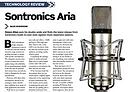 Audio Media review of Sontronics Aria