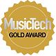 Music Tech Gold Award for Sontronics Aria microphone