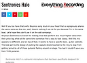 Everything Recording review of Sontronics Halo microphone