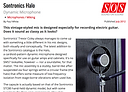 Sound On Sound review of Sontronics Halo microphone