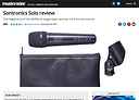 MusicRadar review of Sontronics Solo