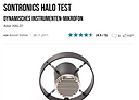 Bonedo 4.5 STAR review of Sontronics Halo microphone