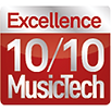 Music Tech Excellence 10/10 award for Sontronics Mercury