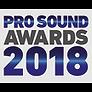 Pro Sound Awards 2018 for Sontronics Delta 2