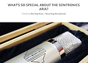 Red Dog Music Blog review of Sontronics Aria