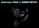 Guitar & Gear review of Sontronics Halo vs Shure Beta57