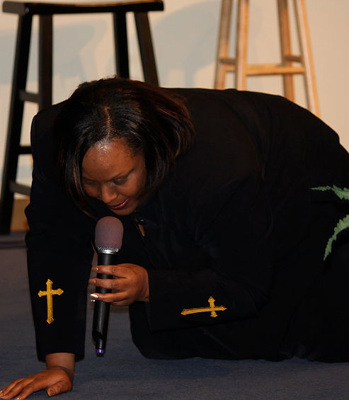 Prophetess Brown, a woman of prayer!