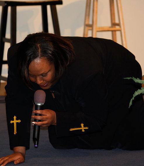 Prophetess Brown, a woman of prayer!