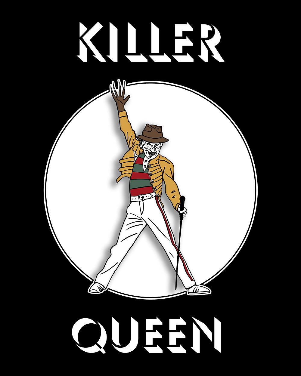 Killer Queen Victoria Hall Art