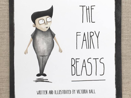 Book proof: The Fairy Beasts