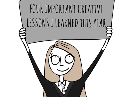 Four important creative lessons I learned this year