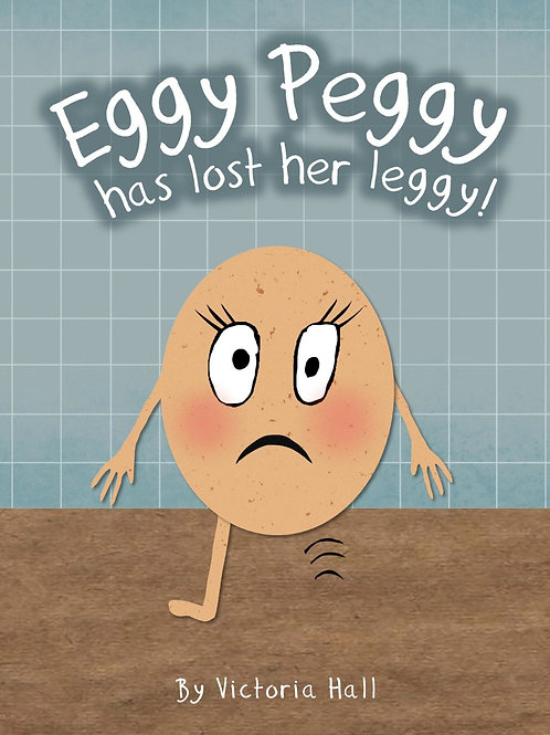 Eggy Peggy has lost her leggy!