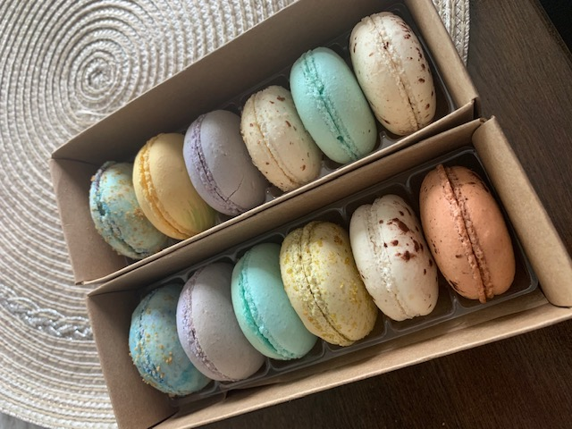 Macarons from Almond & Ivy