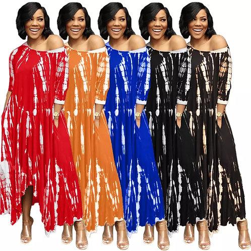 Tie Dye Hi Low Dresses