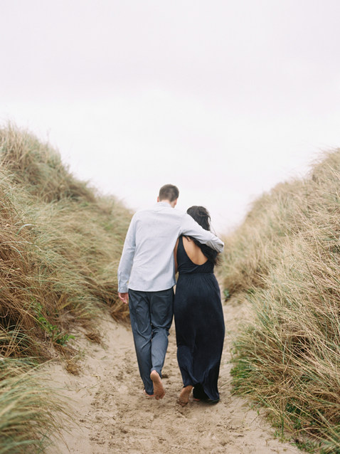 Anniversary shoot at Oregon coast | organic styling & story curation by Nord & Mae